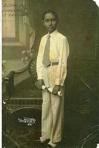 """Jose """"Patrocinio"""" Sibayan, 13 years old, 1931"""