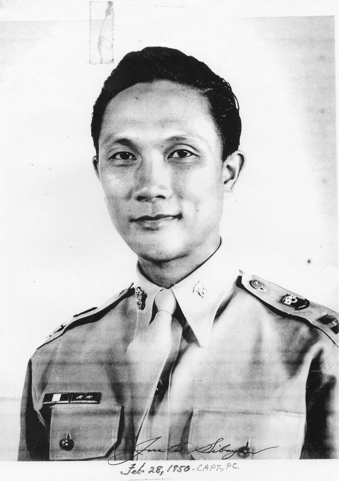 Jose B Sibayan in 1950